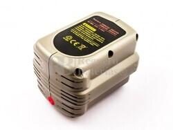 Batería para Dewalt DW008K-2 24 Voltios 3 Amperios