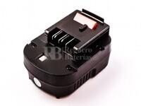 Batería para Black Decker HP128F3B 12V 2A