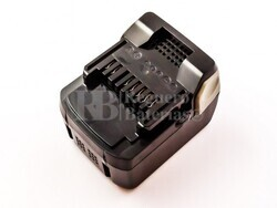 Batería para máquinas Hitachi DV 14DBL  Li-ion 14,4V 3A