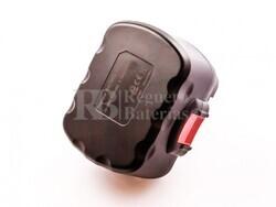 Batería para Bosch 2 609 200 306 12 Voltios 2.500mAh Ni-Mh
