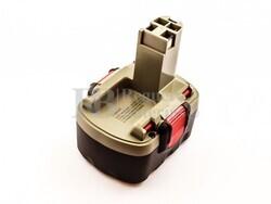 Batería para Bosch BAT038 14,4 Voltios 3.000 mAh Ni-Mh