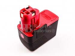 Batería para Bosch 2 607 335 173 14,4 Voltios 3.000 mAh Ni-Mh