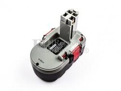 Batería para Bosch BAT181 18 Voltios 3.000 mAh Ni-Mh