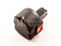 Batería para Bosch 2 607 00180  9,6 Voltios 3.000 mAh Ni-Mh