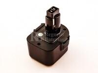 Batería para Black Decker A9252 12V 3A