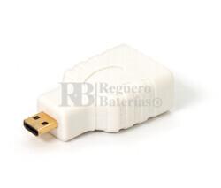 Adaptador de HDMI hembra a Micro HDMI macho