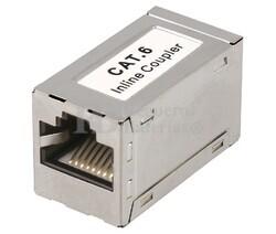 Adaptador inline coupler RJ45 CAT6 FTP H-H