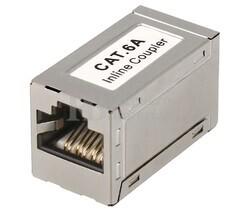 Adaptador inline coupler RJ45 CAT6A FTP H-H