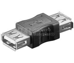 Adaptador USB-A hembra a USB-A hembra