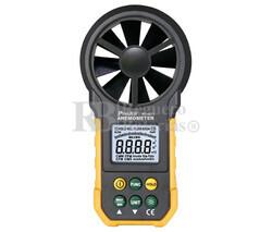 Anemómetro digital para medir velocidad y volumen del aire Proskit MT-4615