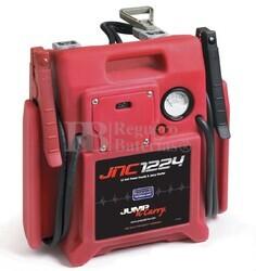 Arrancador Portatil para Vehiculos 12V y 24 Voltios 3600/1320 Amperios Pico