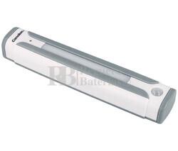 Barra de luz LED a pilas con sensores de presencia
