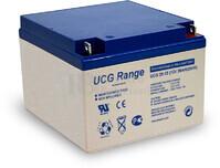 Batería de GEL 12 Voltios 26 Amperios Ultracell UCG26-12