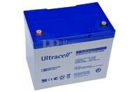 Batería de Gel 12 Voltios 75 Amperios Ultracell UCG75-12