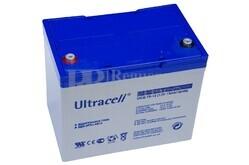 Batería Gel 12 Voltios 75 Amperios Ultracell UCG75-12