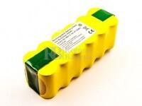 Batería para aspirador  iRobot Roomba 500, 610,620,780 Professional NiMH, 14,4V, 3300mAh