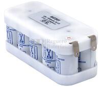 Batería para Electromedicina 12 Voltios 1.600 mAh SUB-C SAFT