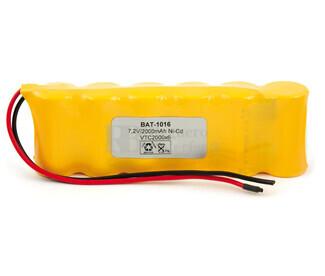 Batería para Electromedicina 7.2 Voltios 2.000 mAh AA NI-CD 134,40x42,3x22,4mm