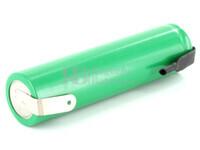 Batería recargable 1.2 Voltios 3.900 mah 4/3A, 7/5A NI-MH  con Lengüetas