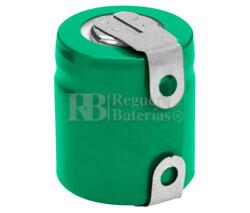 Batería recargable 1.2 Voltios 300 mah 1/3AA NI-MH