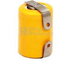 Batería recargable 1/3AAA NI-MH 1.2 Voltios 250 mah