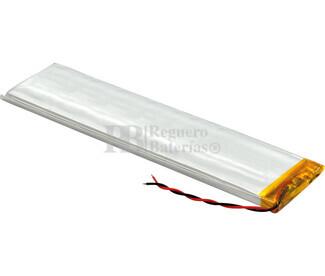 Batería recargable 3.7V 1.400 Mah de Polímero de Litio GSP6530100