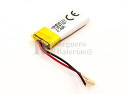 Batería recargable 3.7V 140 Mah de Polímero de Litio 30087