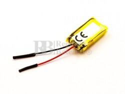 Batería recargable 3.7V 140 Mah de Polímero de Litio 30851