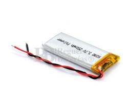 Batería recargable 3.7V 250 Mah de Polímero de Litio GSP041842