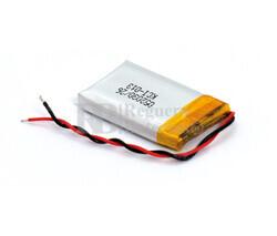 Batería recargable 3.7V 250 Mah de Polímero de Litio GSP052030