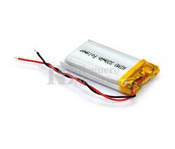 Batería recargable 3.7V 280 Mah de Polímero de Litio GSP052035-502035