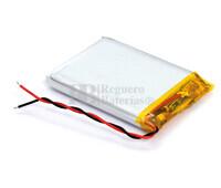 Batería recargable 3.7V 650 Mah de Polímero de Litio SP043450