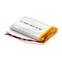 Batería recargable 3.7V 720 Mah de Polímero de Litio GSP053048
