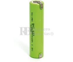 Batería 1.2 Voltios 3.800 mAh con lenguetas 4/3A 7/5A Ni-Mh