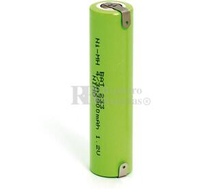 Batería 1.2 Voltios 3.800 mAh con lenguetas 4-3A 7-5A Ni-Mh