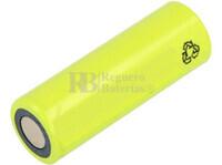 Batería AA 1.2 Voltios 1 Amp NiCd recargable S/Lengüetas