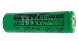 Batería AA 1.2 Voltios 2.200 mah sin lengüetas
