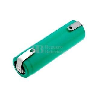 Batería AAA 1.2 Voltios 750 mAh NiMh recargable C-Lengüetas