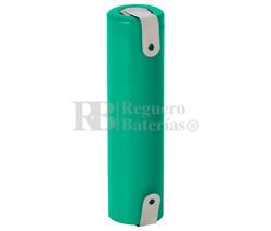 Batería recargable Li-Ion ICR18650 3.7V 1.800 Mah con Lengüetas