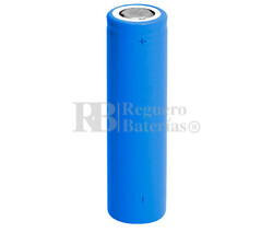 Batería recargable Li-Ion ICR18650 3.7V 2.400 Mah