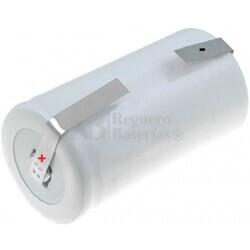 Batería recargable R20 1.2 Voltios 4.000 mAh  C/Lengüetas
