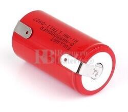 Batería recargable R20 1.2 Voltios 9.500 mAh C/Lengüetas