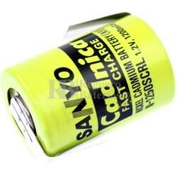 Batería 4/5 SC 1.2 Voltios 1.200 mah con lengüetas