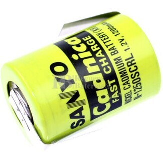 Batería 4-5 SC 1.2 Voltios 1.200 mah con lengüetas