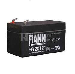 Batería 12 Voltios 1,2 Amperios Fiamm FG20121