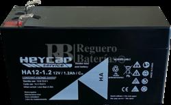 Batería 12 Voltios 1,2 Amperios Heycar HA12-1.2