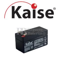 Batería 12 Voltios 1,2 Amperios Kaise KB1212
