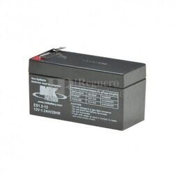 Bateria 12 Voltios 1,2 Amperios MK ES1.2-12