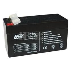 Batería 12 Voltios 1,3 Amperios DSK