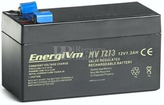 Batería 12 Voltios 1.3 Amperios Energivm MV1213